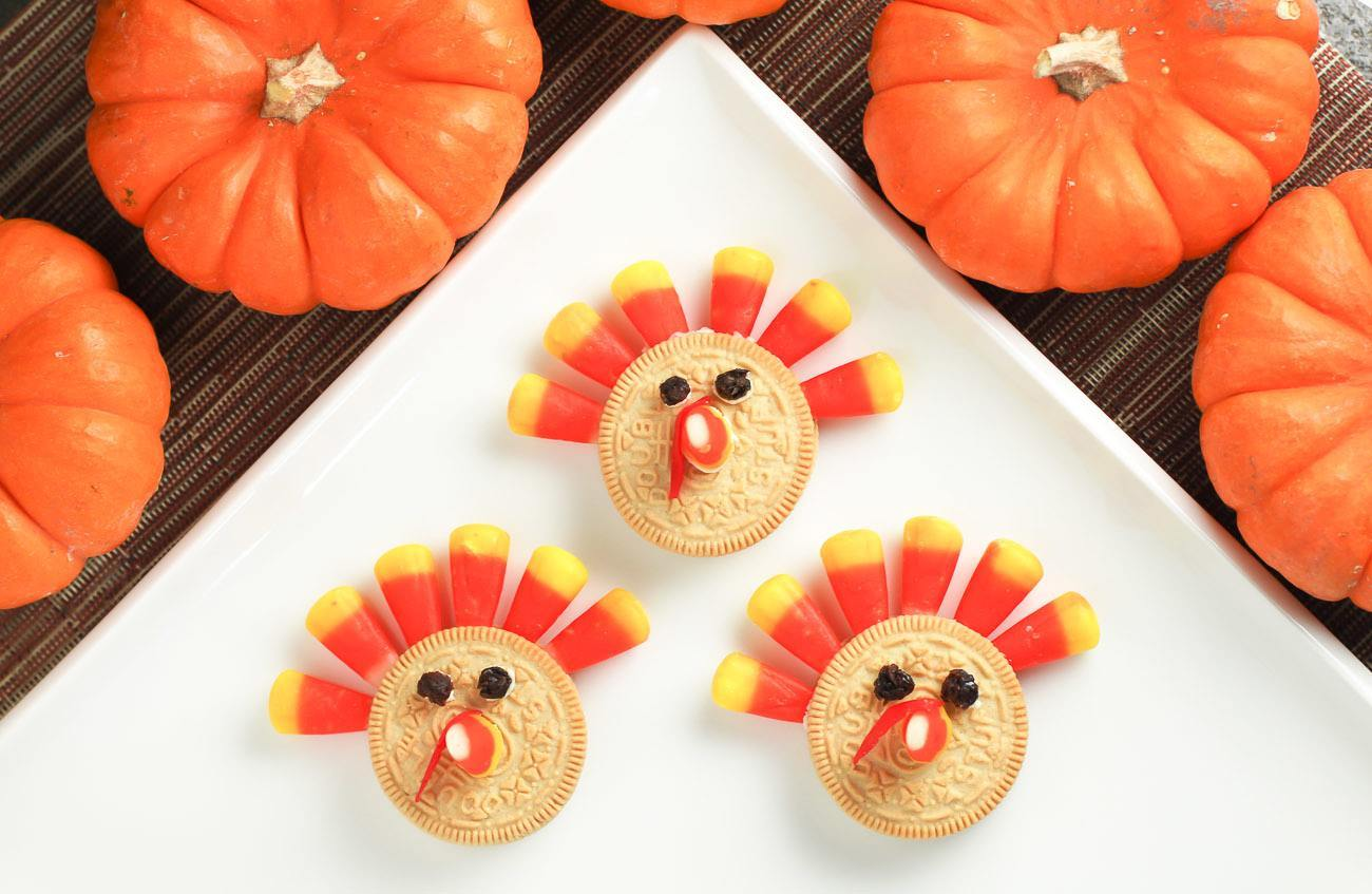 Kids Recipe Crazy Easy Thanksgiving Turkey Cookie
