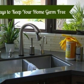 5 Ways to Keep Your Home Germ Free