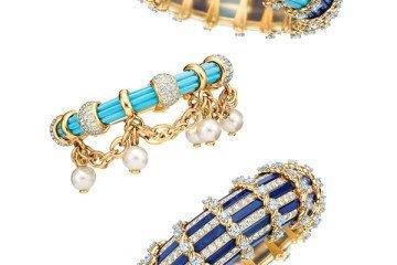Tiffany & Co. Jean Schlumberger Diamond and Gemstone Bracelets