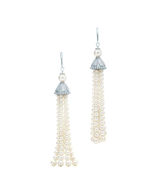 Tiffany & Co. Ziegfeld pearl earrings