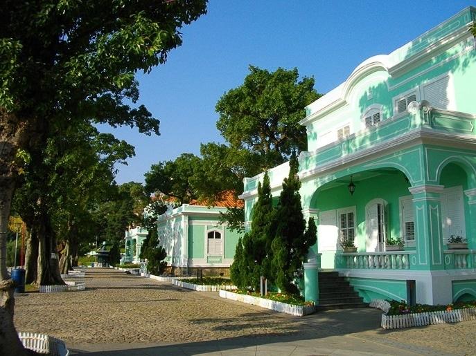 Taipa Houses Museum Macau China
