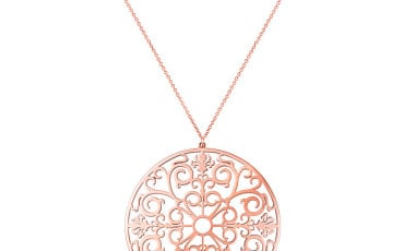 Tiffany Enchant™ pendant in RUBEDO™ metal, $975. (Photo Credit: © Tiffany & Co.)