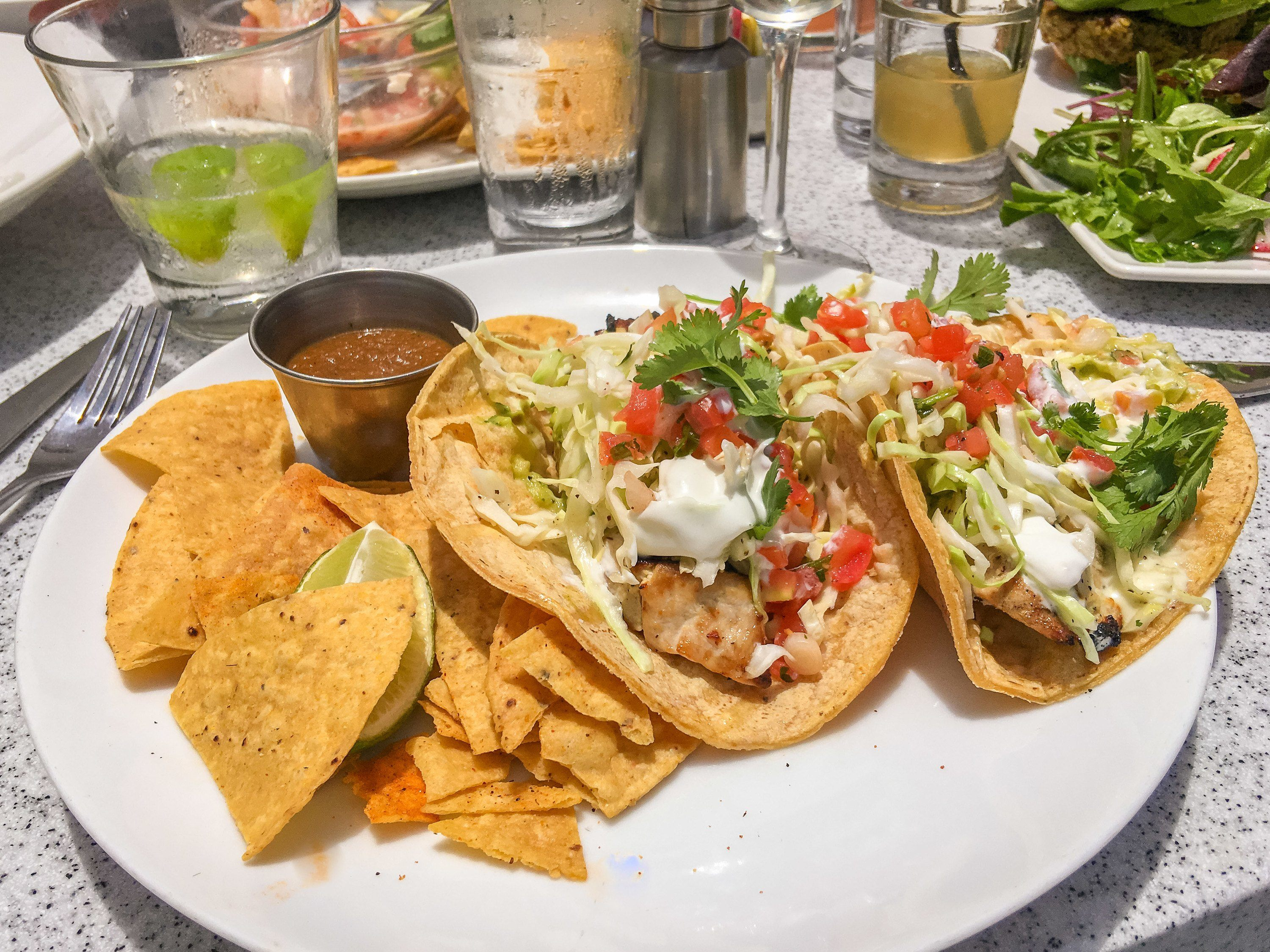 George's Ocean Terrace has some of the best fish tacos in La Jolla, if not all of San Diego.