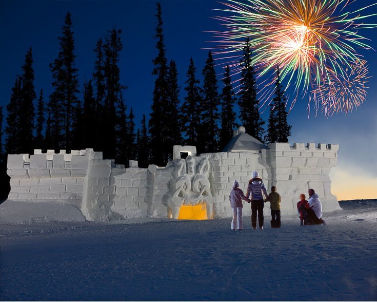 keystone kidtopia ski resort colorado kids snow fort