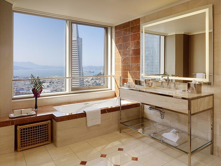 mandarin oriental hotel san francisco with kids king bathroom