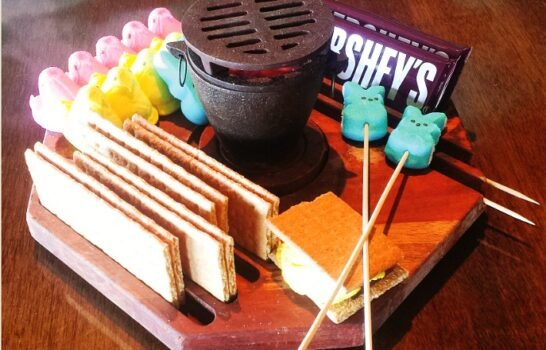 Eat This: Tableside Peeps S'mores At The Duck Dive