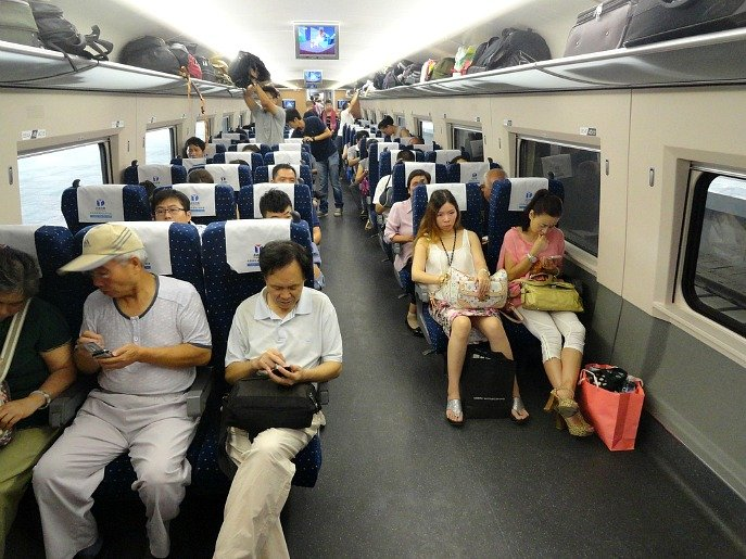 China High Speed Rail Second Class