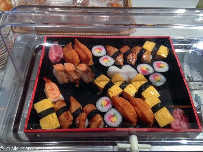 Japan Airlines Sakura Lounge Tokyo Narita Airport Satellite Sushi