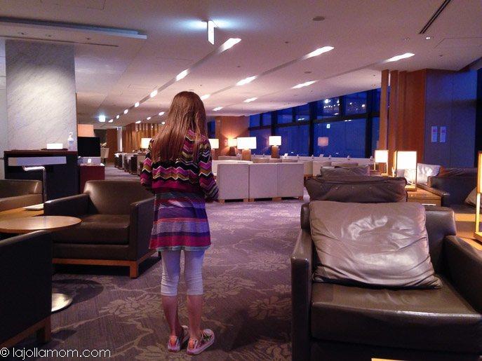 Japan Airlines Sakura Lounge Tokyo Narita Airport