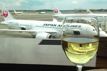 Tokyo Narita Japan Airlines Business Class Lounges