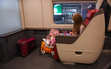 Definitely book business class on China's high speed trains.