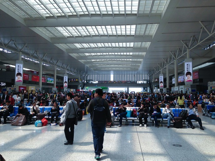 china high speed trains shanghai hongqiao