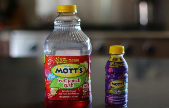 Cool Down with Mott's Juice Drink Frozen Treats