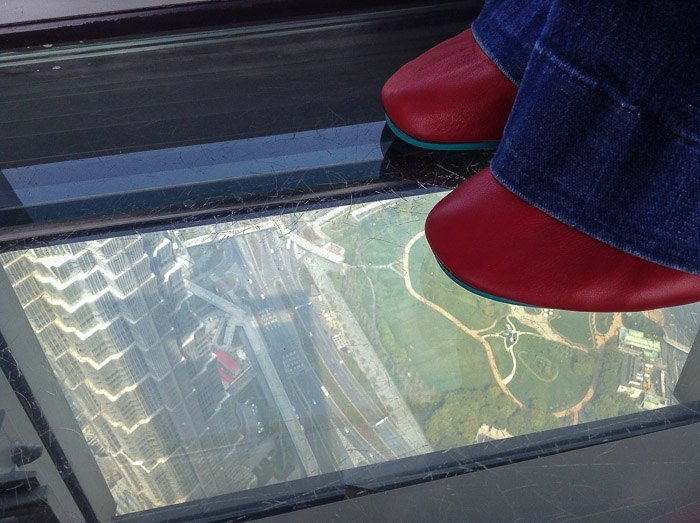 shanghai world financial center observation deck