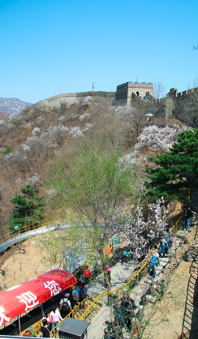 Great Wall Mutianyu Beijing China