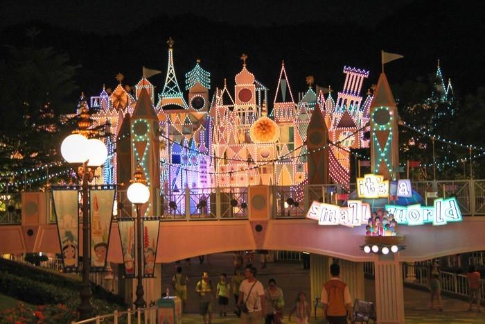 Hong Kong Disneyland Small World Ride