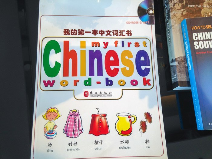 china family vacation mandarin book