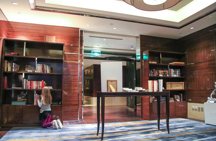four seasons hotel beijing executive club library