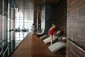 Four Seasons Hotel Shanghai at Pudong is one of the best luxury hotels in the area for kids.