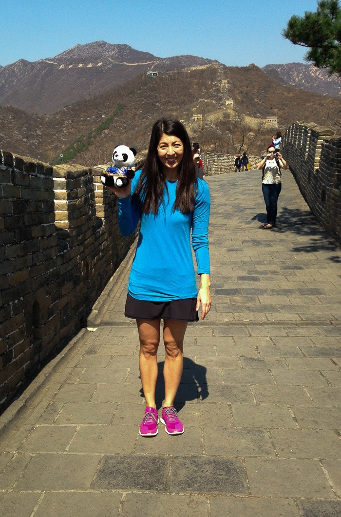 Visit the Great Wall of China at Mutianyu with kids