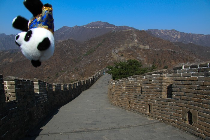 great wall china mutianyu beijing