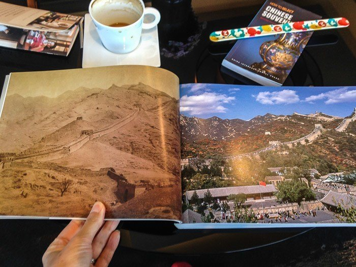 great wall china photography book