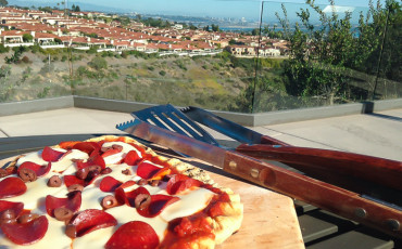 how to grill pizza on the bbq
