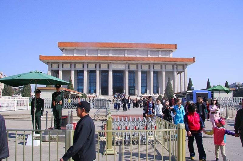 beijing with kids tiananmen square mao mausoleum