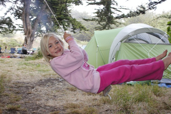 camping in sononma with kids