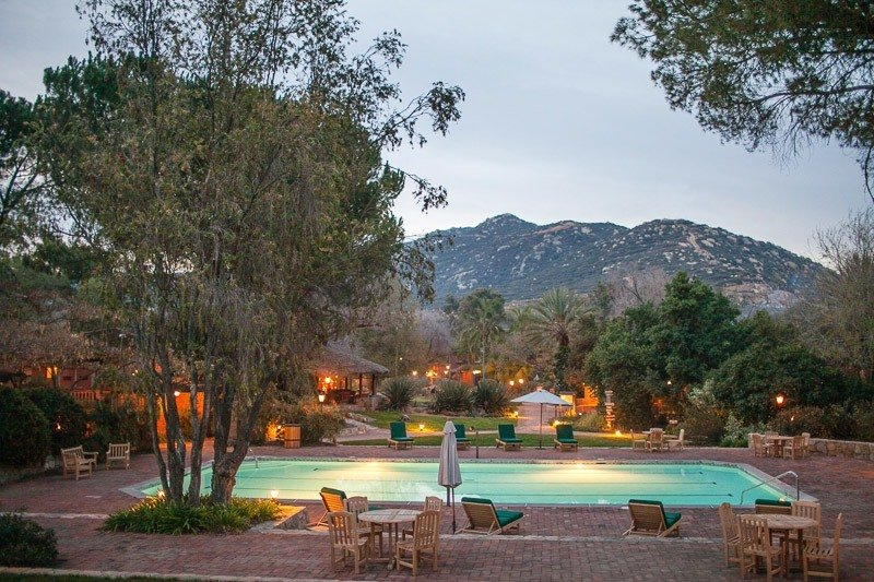rancho la puerta destination spa pool