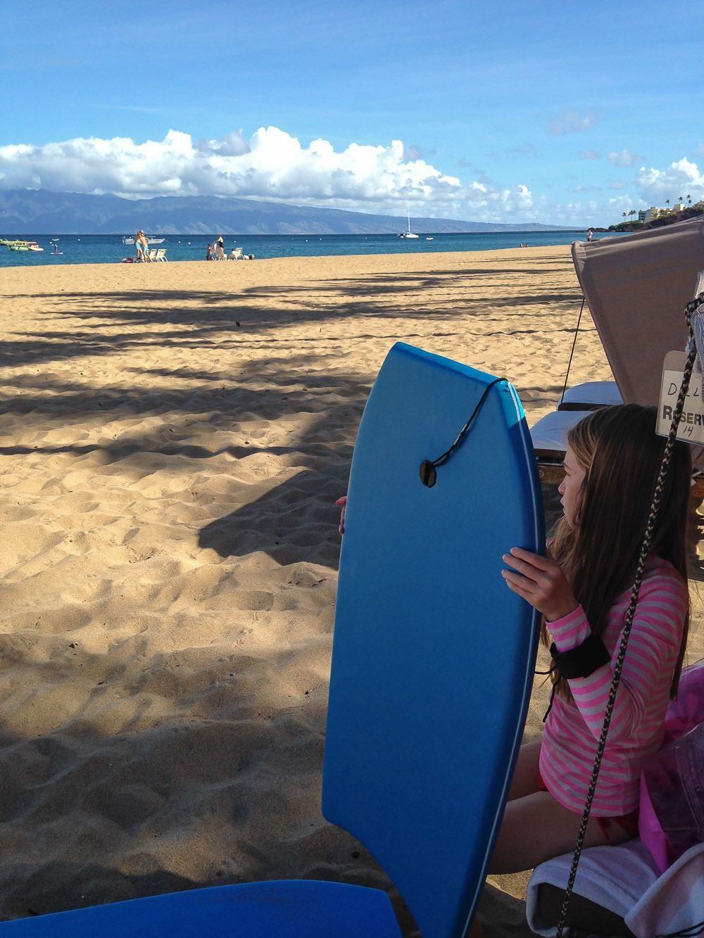 kaanapali alii beach cabana