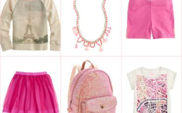 kids fashion travel paris