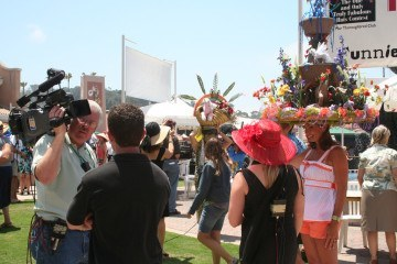 opening day del mar hat contest