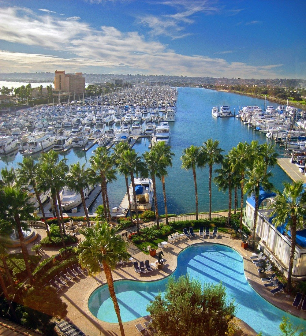 Sheraton San Diego Hotel And Marina Family Hotels In San