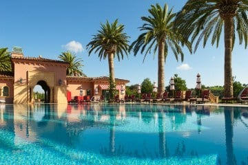 Fairmont Grand Del Mar's fabulous outdoor pool helps make it one of San Diego's best luxury hotels.
