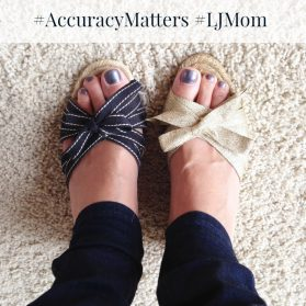 Share Why #AccuracyMatters with #LJMom to Win