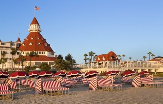 Rentals for Residents and Visitors at Hotel Del Coronado's Del Beach
