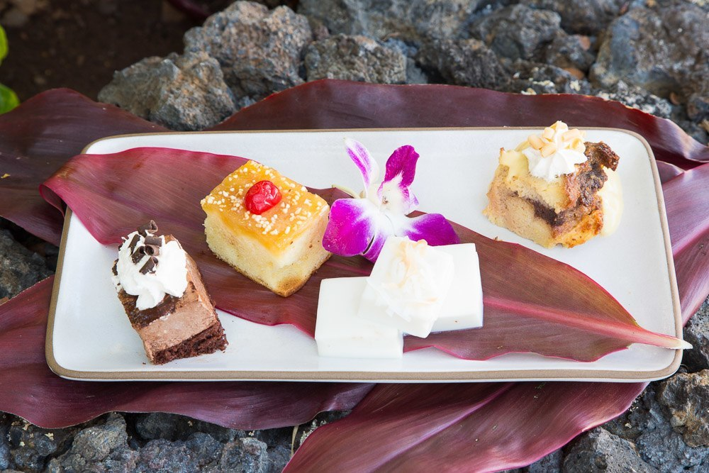 drums of the pacific maui luau desserts