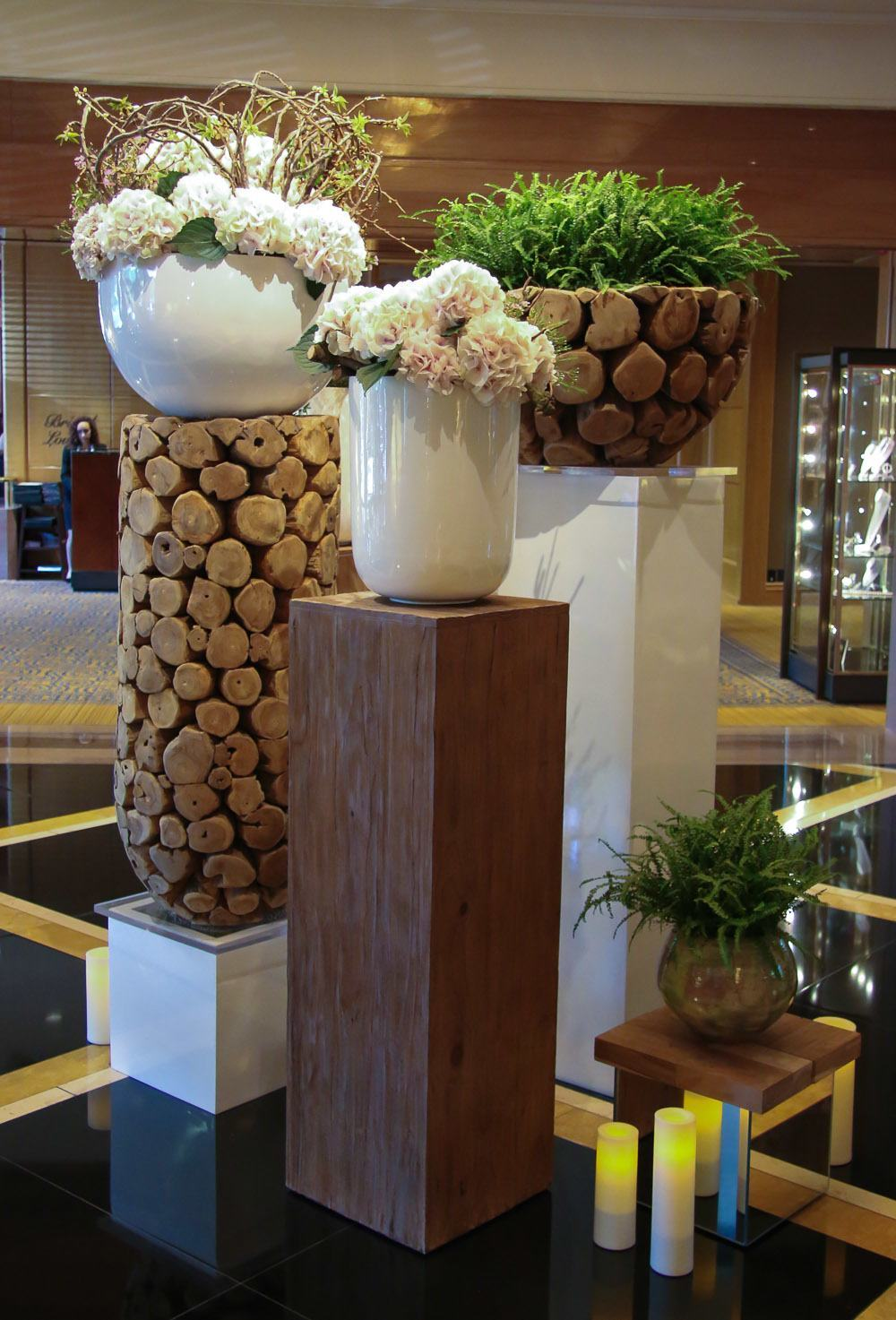 four seasons hotel luxury flowers
