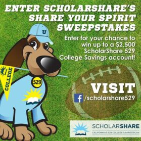 September Is College Savings Month and a Chance to Win
