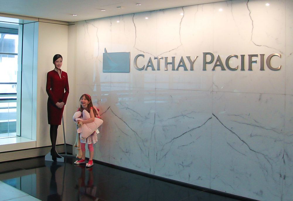 The Kid Friendly Cathay Pacific Pier Lounge in Hong Kon