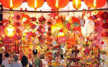 mid autumn festival lanterns