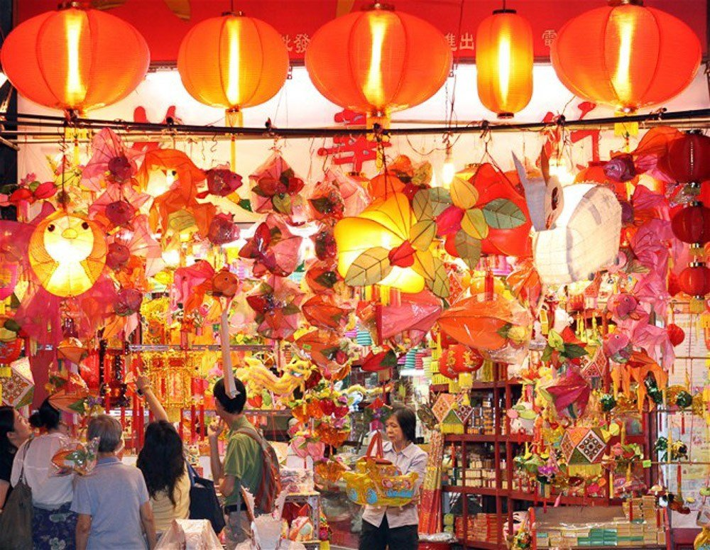 Celebrate Mid Autumn Festival With Mooncakes And Lanterns