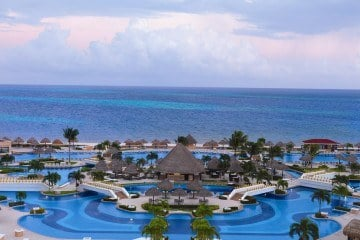 Moon Palace is an all-inclusive luxury resort in Cancun, Mexico
