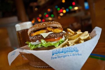 Islands Hawaiian Burger recipe