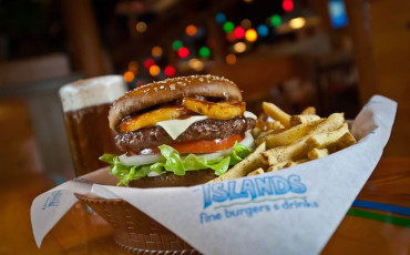Islands Hawaiian Burger recipe