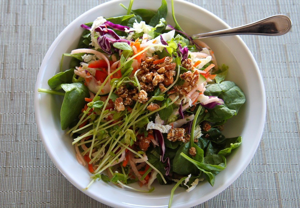 Beaming Lifestyle Cleanse Thai salad