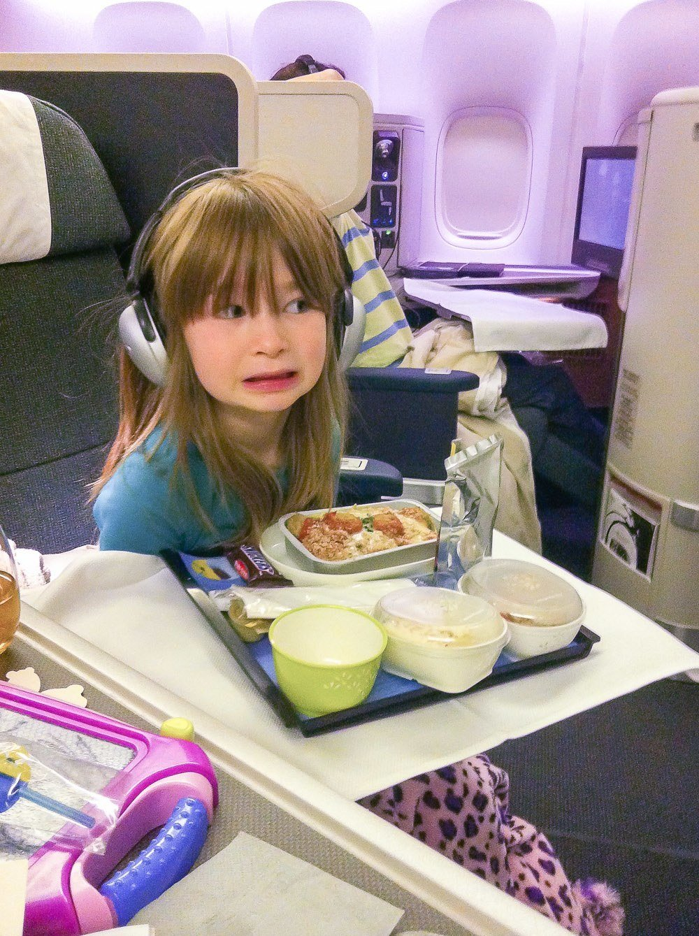 Cathay Pacific Business Class Kids