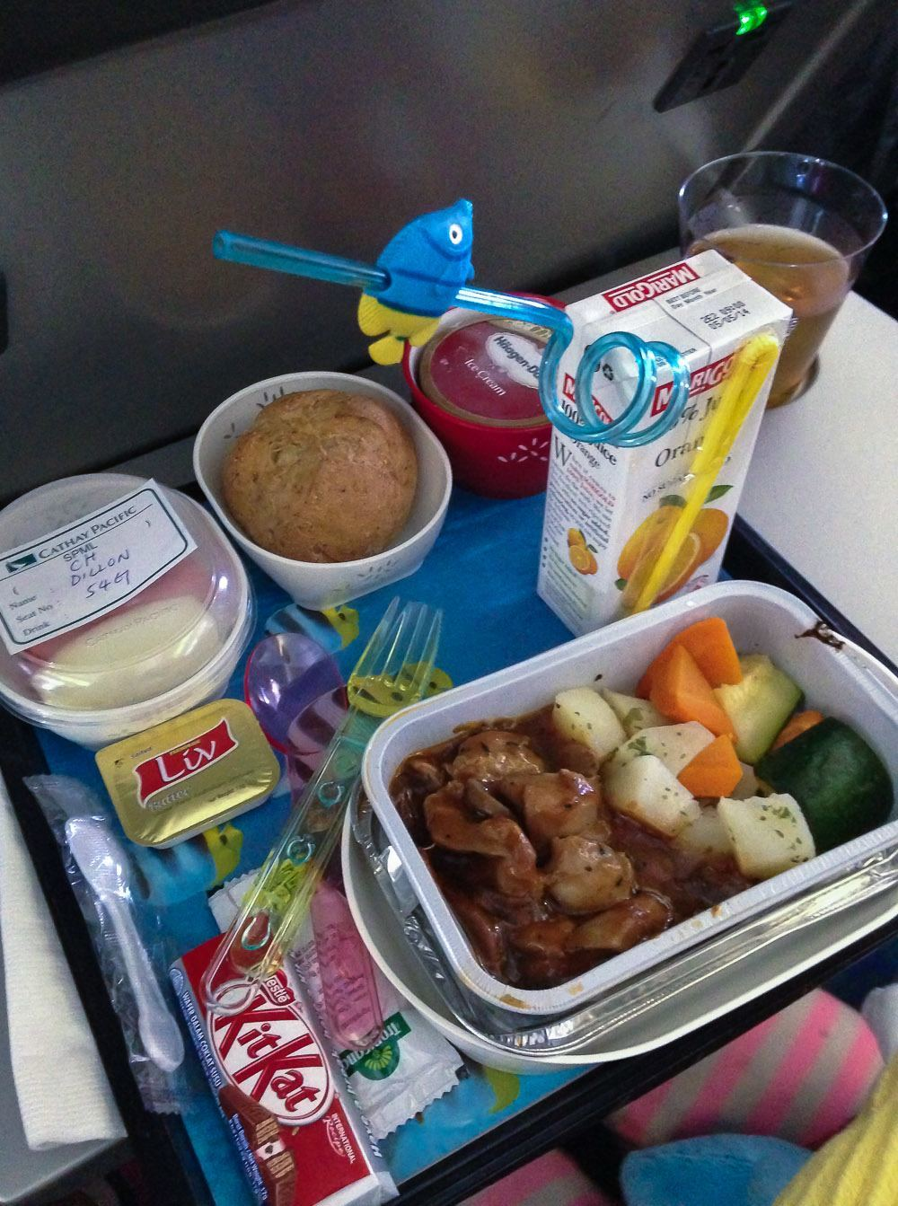 Cathay Pacific Kids Meals