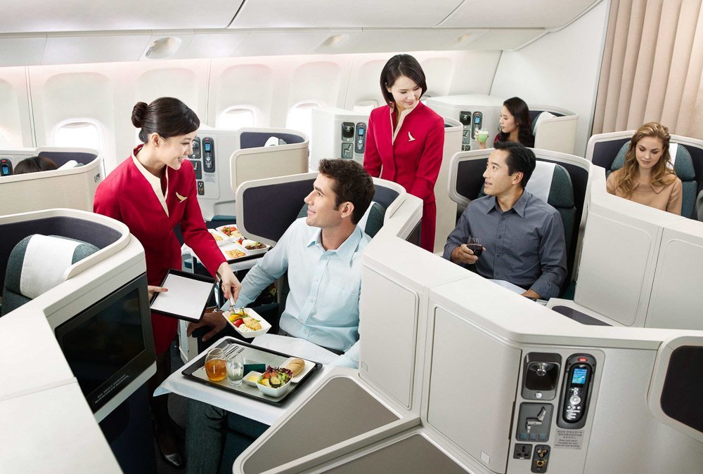 cathay pacific new business class interior classes 10 Reasons Why Cathay Pacific Is the Worldu0027s Best Airline